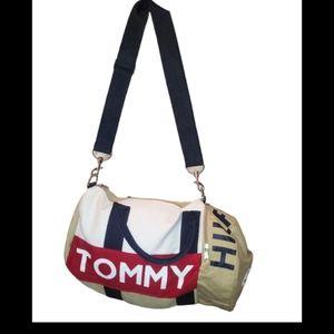 Tommy Hilfiger mini duffel bag beige, blue, Red,